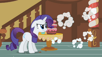 Rarity upset and ears down S2E8