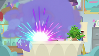 Smoke bomb set off in Starlight's office S9E20