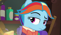 Snowdash raising an eyebrow S6E8