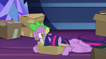 Spike -worried about ruling Equestria- S9E26