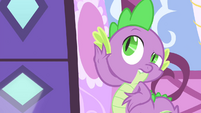 Spike hearing what's happening inside S4E23