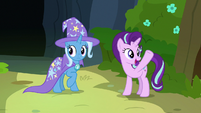 Starlight -showing everypony his good side- S7E17