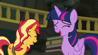 Sunset and Twilight laughing again EGFF