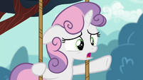 Sweetie --Who knew there were so few ponies worried about their cutie marks--- S6E4