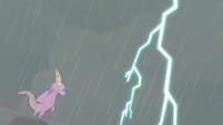 Thunderous sky over Scales S8E16