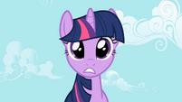 Twilight Sparkle hears screaming S2E03