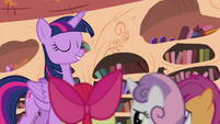 Twilight tells the CMC to -prove it!- S4E15