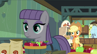 "Applejack ""peelin' them apples for the cider, Maud?"" S4E18"