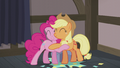 Applejack and Pinkie Pie warm hug S5E20.png