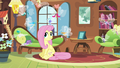 Breezies happy with Fluttershy S4E16.png