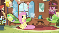 Breezies happy with Fluttershy S4E16