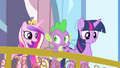 Cadance asking Spike to light the torch S4E24.png