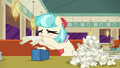 Coco Pommel blowing her nose S6E9.png