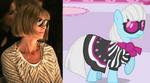 Comparação lado-a-lado entre Anna Wintour and Photo Finish
