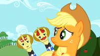 Flim flam and applejack S2E15