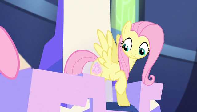 File:Fluttershy's cutie mark glows S5E01.png