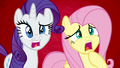 Fluttershy and Rarity in complete shock S6E11.png