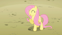 Fluttershy awfully lucky S2E01
