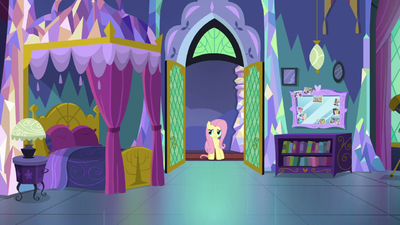 Fluttershy looking for Twilight Sparkle S7E20