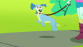 Lyra Heartstrings' dog notices Fluttershy SS14.png
