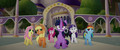 Mane Six are cornered as they retreat MLPTM.png