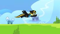 Midnight Strike flying S03E07