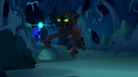 Nightmare Moon about to zap timberwolf S5E26