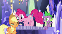 "Pinkie ""look behind you once in a while"" S9E14"