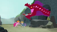 "Pinkie Pie ""that eel almost ate you!"" S7E4"