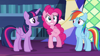 "Pinkie Pie ""why wasn't I told about it?"" EG2"