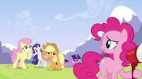 Pinkie Pie 'Do you think she heard me-' S3E7