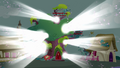 Ponyville library covered in light S03E13.png