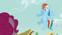 Rainbow 'Or I could take everypony on a cloud ride' S3E3