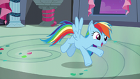 Rainbow Dash --just like you guys!-- S6E7