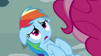 Rainbow Dash nervous S4E12