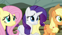 "Rarity ""thought she'd be a bit more excited"" S4E18"