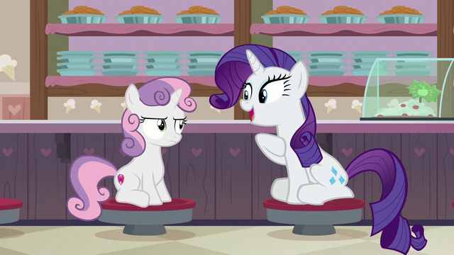 """File:Rarity """"your all-time favorite dessert!"""" S7E6.png"""