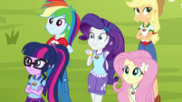 Rarity getting very excited EG4