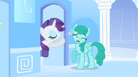 Rarity still prepping S1E16