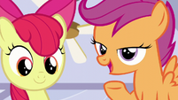 Scootaloo --but it just comes when it comes!-- S6E4