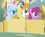 Shoeshine, Berryshine and a pony in a radiation suit S2E6