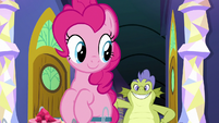 Sludge follows after Pinkie Pie S8E24