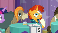 Sunburst pondering on the question S9E16