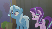 Trixie makes a realization S6E6