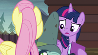 Twilight Sparkle --I'm starting to think-- S5E23