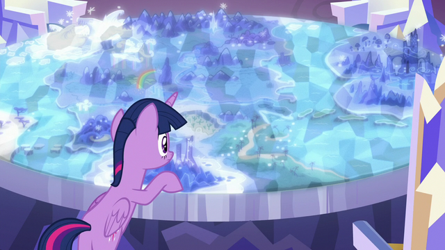 File:Twilight Sparkle looks at the Cutie Map again S7E1.png