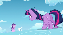 Twilight and Starlight panting S5E26