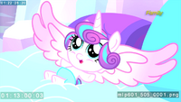 Alicorn Baby Flurry Heart revealed S6E1