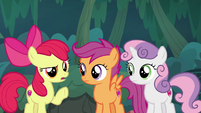 """Apple Bloom """"used to stuff like this"""" S9E23"""