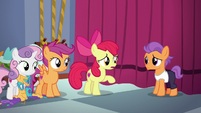 "Apple Bloom ""you wanted to perform more than anythin'"" S6E4"